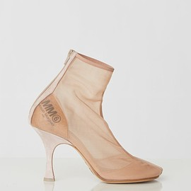 MM6 - Mesh Ankle Boots