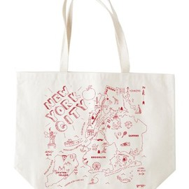 Maptote - New York City Beach Tote