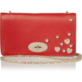 MULBERRY - Valentines Bayswater leather clutch