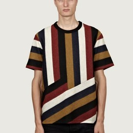 Kenzo - Men's Striped T-Shirt