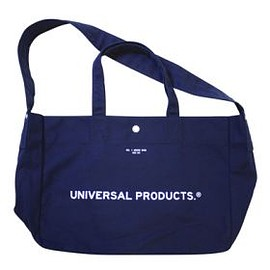 UNIVERSAL PRODUCTS - UNIVERSAL PRODUCTS NEWS BAG [NAVY]