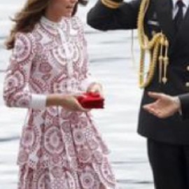 The Duchess of Cambridge - one piece dress