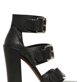 PROENZA SCHOULER - 100MM LEATHER BELTED SANDALS