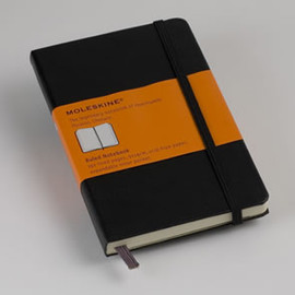 Moleskine Limited Edition Mickey Mouse Pocket Plain Notebook - Black (3.5 x 5.5) (Limited Editions)