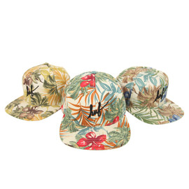 HUF - CLASSIC SCRIPT FLORAL STARTER SNAPBACK RED