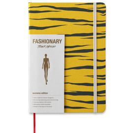 Fashionary - Tiger Mania Yellow A5