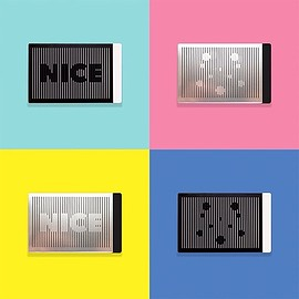"Duncan Shotton Design Studio - ""Nice to meet you"" card case"