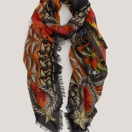 Givenchy - Printed wool scarf