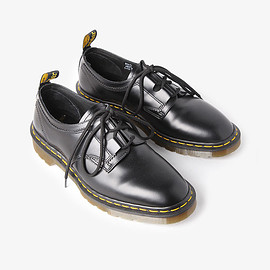 Engineered Garments, Dr.Martens - GHILLIE LACE - CLASSIC SMOOTH LEATHER BLACK