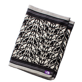 THE NORTH FACE PURPLE LABEL - Wool Cotton Jaquard Blanket Large
