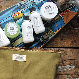 "Baxter of California - Baxter × Stussy Livin' GENERAL STORE""Travel Kit"""