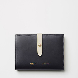 CELINE - Celine Navy Strap Medium Multifunction