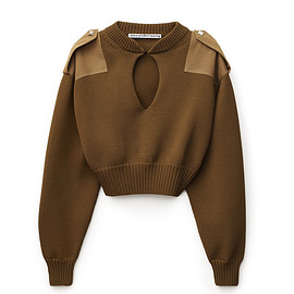 Alexander Wang - CROPPED PATCH PULLOVER
