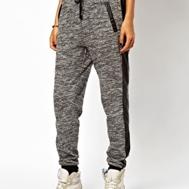 asos - Sweatpants with PU Pocket
