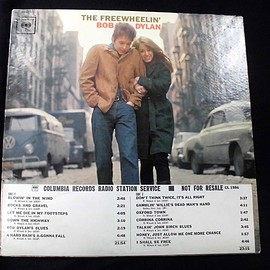 bob dylan - ●即決USオリジナルMono Promo Copy White Label w/Timing Strip Cover!! Bob Dylan / The Freewheelin'_画像1