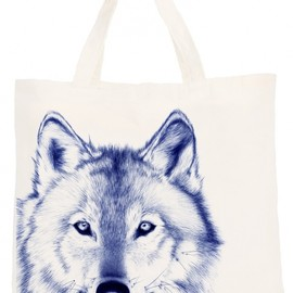 "Cool and the Bag - ""Wolf"" Coolandthebag Tote Bag"