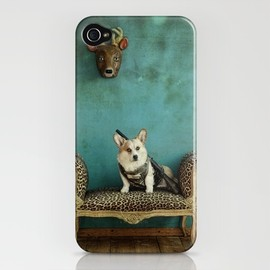 Society6 - The Deer Hunter iPhone Case