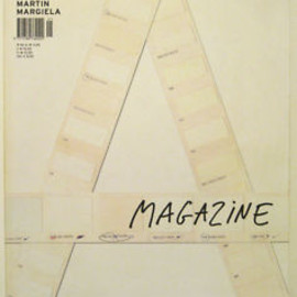 Martin Margiela - A MAGAZINE #1 Curated By MAISON MARTIN MARGIELA 2004 Modern Fashion Design RARE