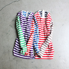maillot - crazy border Long T-shirts