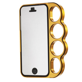 knuckle case - Polished Gold