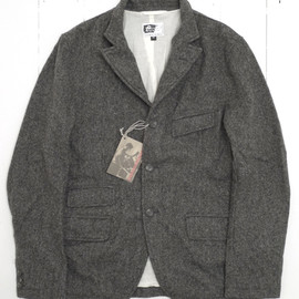 Engineered Garments - Grey Homespun Wool Andover Jacket