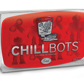 Fred & Friends - CHILLBOTS ROBOT ICE TRAY
