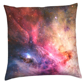 csera surface design - Galaxy, Nebula, Cosmic Print Cushion Pillow