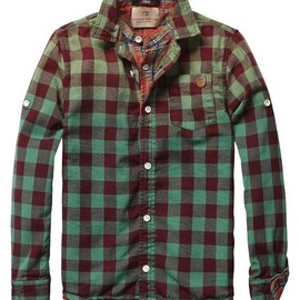 Scotch & Soda - Double Layer Check Shirt - Scotch & Soda