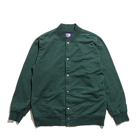 THE NORTH FACE PURPLE LABEL - 10oz Mountain Snap Cardigan-Green