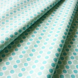 blend fabrics - Spring Promise Buds Turq