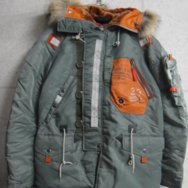 AVIREX - N-3 CUSTOM JACKET