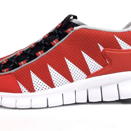 NIKE - FOOTSCAPE FREE 「LIMITED EDITION for SELECT」 ORG/WHT/BLK