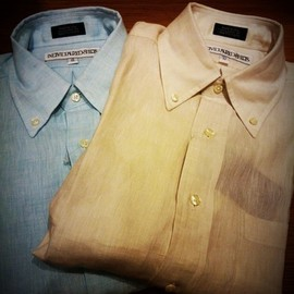 individualized shirts - LINEN B&Y EXCLUSIVE FIT