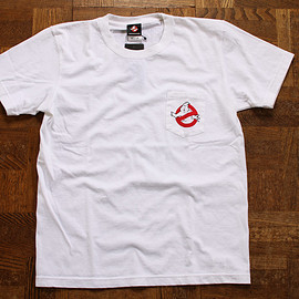 AUDIENCE - GHOST BUSTERS POCKET S/S Tee