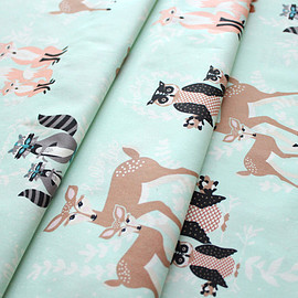 Art Gallery Fabrics - Hello, Bear Oh, Hello Meadow