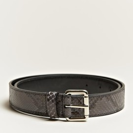 JIL SANDER - Python leather belt