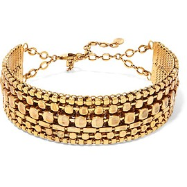 Erickson Beamon - Awaken gold-plated choker