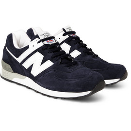 New Balance - New Balance 576 Suede and Leather Sneakers
