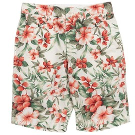 Workers - Buckle Back Shorts, Floral