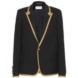 SAINT LAURENT - SS2015 Wool blazer