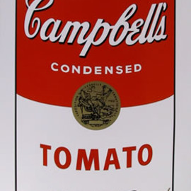 Andy Warhol - Title: Campbell Soup Can: Tomato
