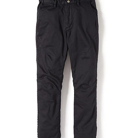 nonnative - ADVENTURER PANTS TAPERED FIT C/P SATIN STRETCH