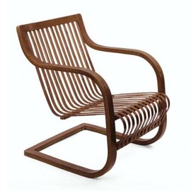 "Charlotte Perriand - Bamboo Armchair, ""Tadition"" Exhibition"