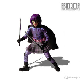 MEZCO - KICK-ASS 12inch Hit Girl figure