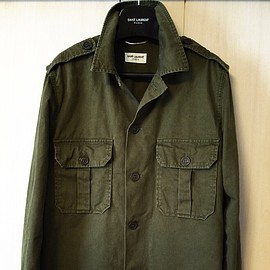 Saint Laurent Paris - Oversized Drill Jacket