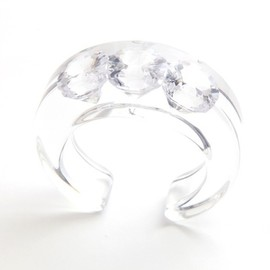 JUTIQU - Timeless Bangle 2/20mm zirconia×3