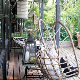 outdoor dining - outdoorhangstoel