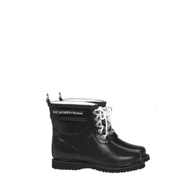 ILSE JACOBSEN - Classic short rubber boot with laces