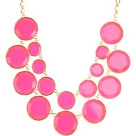 kate spade  - baublebox bib necklace
