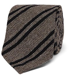 Berluti - 7cm Striped Wool, Cashmere and Silk-Blend Tie